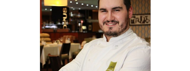 Ben Ternent, executive chef at Opus